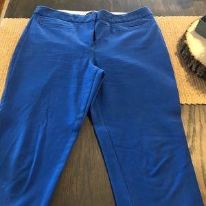 Woman's Talbots blue casual pants sz 12 Petite